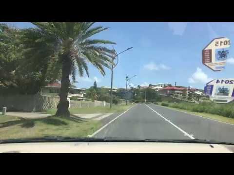 Timelapse drive around St Kitts