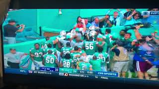 Miami Miracle! Dolphins defeat Patriots December 9th 2018! Epic last play to win it on a touchdown!