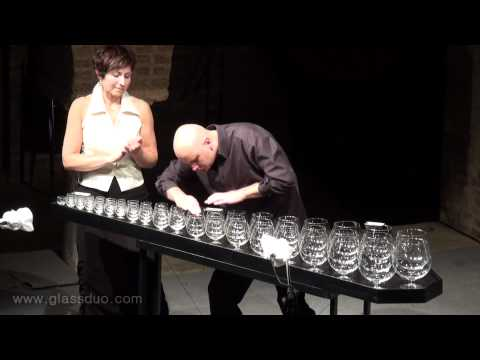 Morning Mood and Anitra's Dance by E.Grieg -  Glass Harp LIVE