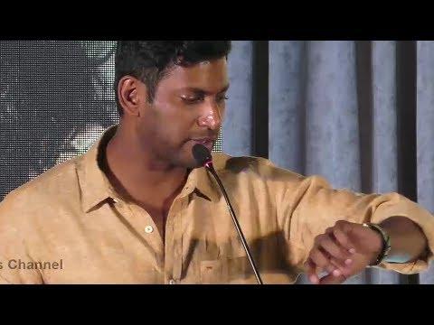 Actor-Producer Vishal Speech at KGF Press Meet | Yash | Srinidhi | 21st Dec 2018