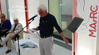 Michele Placido e Icaro al museo archeologico di Reggio Calabria