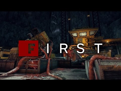 Gears of War 4 'Lift' Multiplayer Map Flythrough - IGN First