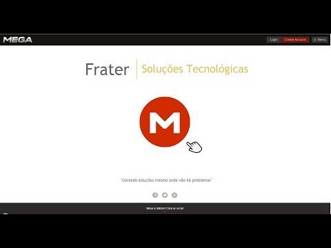 Mega.co.nz - Aprenda a subir, baixar e disponibilizar arquivos na internet