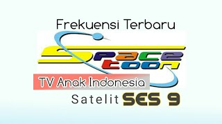 Frekuensi Spacetoon 2019 SES 9 Ku band Tv anak Indonesia