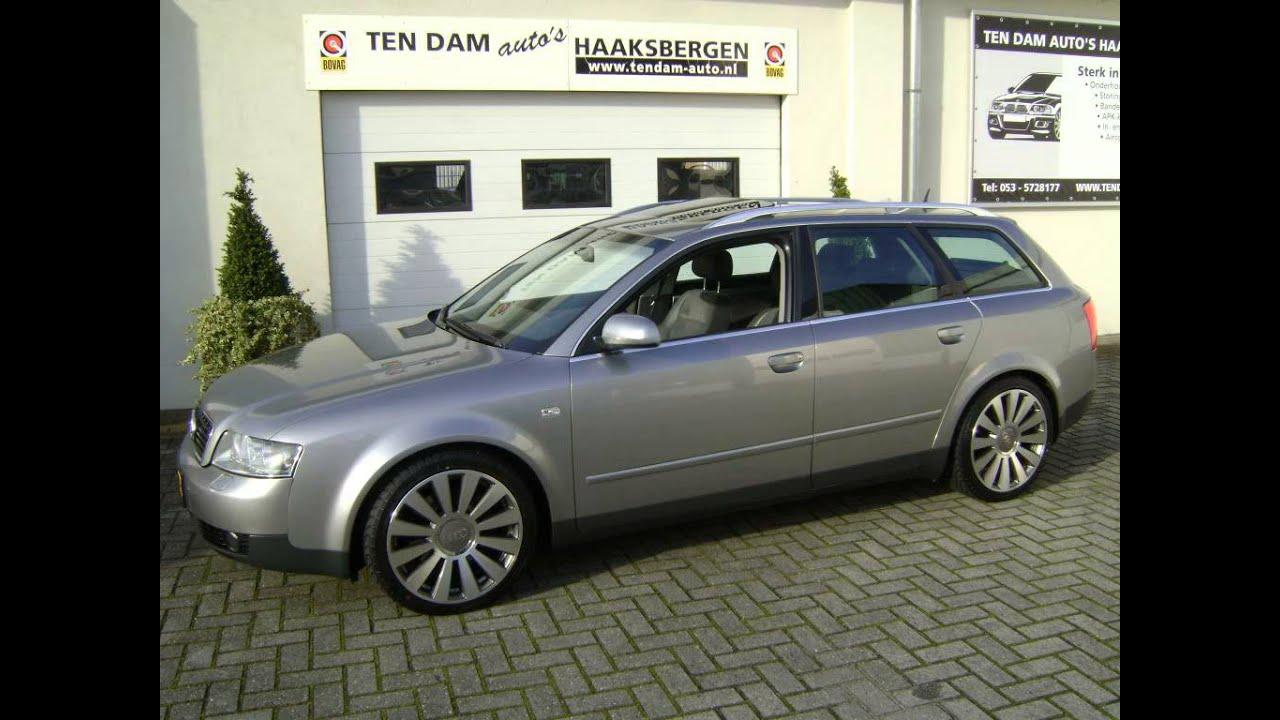 Audi A4 Avant 2 5 Tdi S Line Leder Navi Xenon 2002 Ten