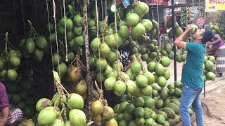 Amazing Street Fruits Market | Biggest Fresh Street Foods Place Of Fruits In Bangladesh
