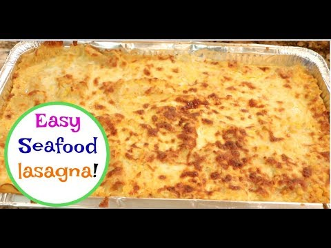 Easy seafood lasagna | Recipes from a small kitchen