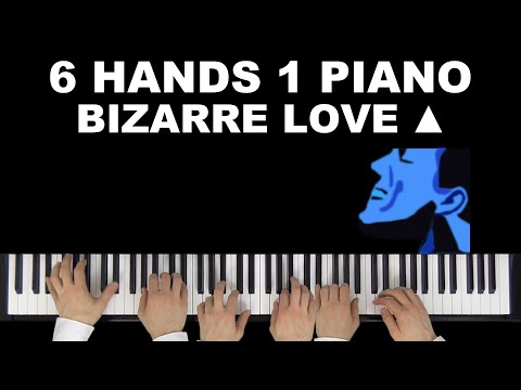 New Order/Frente! - Bizarre Love Triangle (Cover by Many Hands Play Piano)