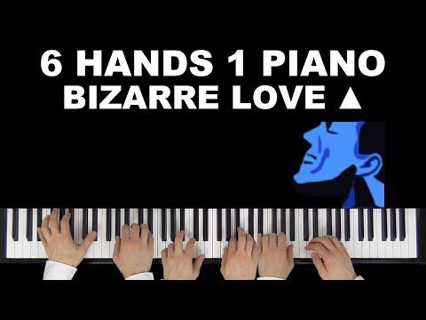 New Order/Frente! - Bizarre Love Triangle | 6 Hands 1 Piano
