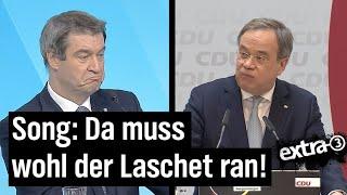 """Song zur CDU-Kanzlerfrage: """"Müssen wir jetzt den Laschet nehmen?"""""""