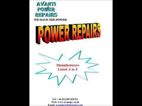 Avanti Power Repairs - List of Power Supply manufacturers we repair