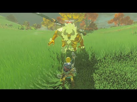How Strong is A Gold Lynel? - Zelda Breath of the Wild