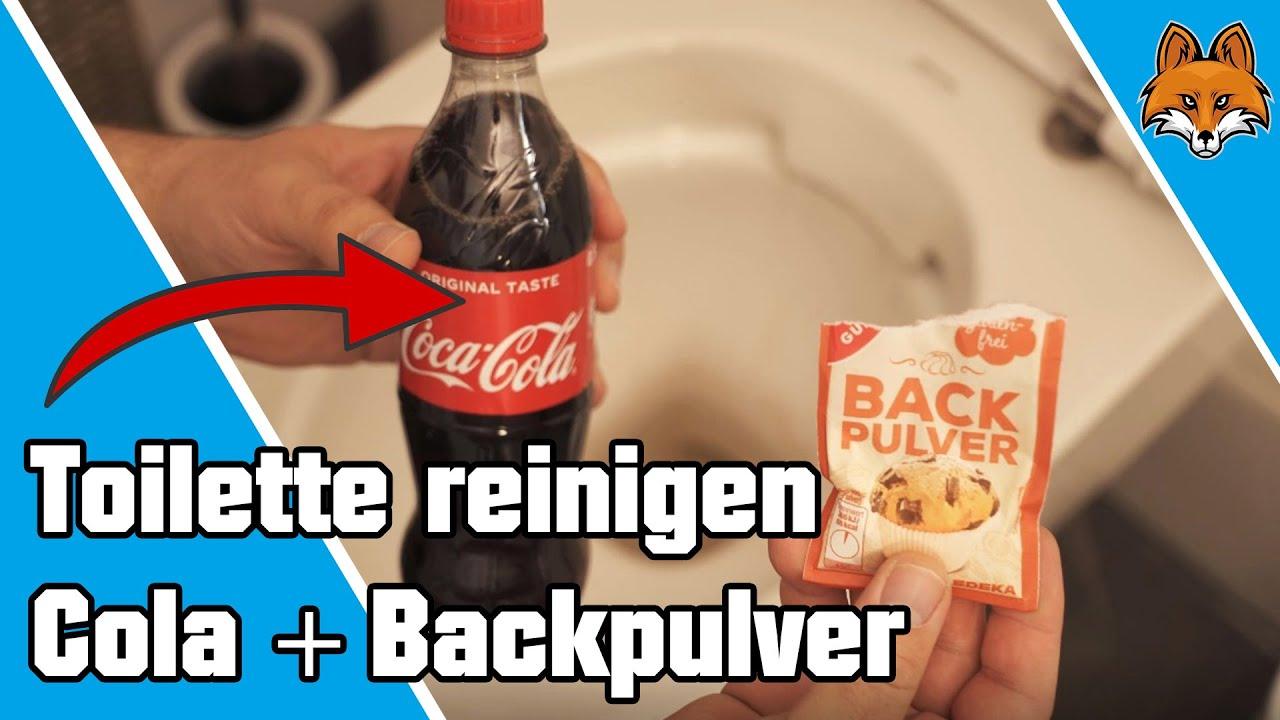 coca cola toilette reinigen