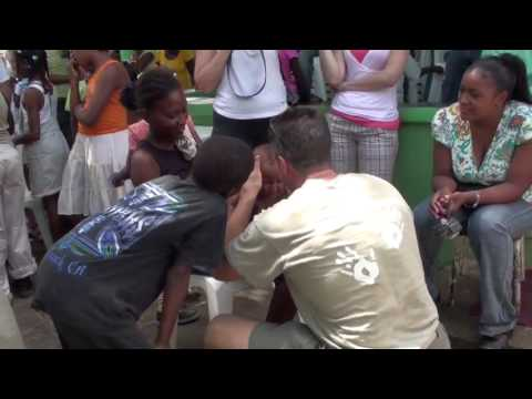 Chiropractors with Compassion Clinic at the Batey, Dominican Republic