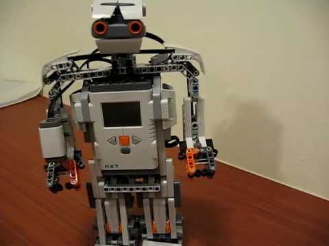 Mindstorms Nxt 20 Alpha Rex Youtube