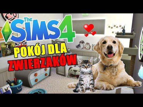 Budujemy pokój dla ZWIERZAKÓW w SIEROCIŃCU! 💕 The Sims 4 thumbnail