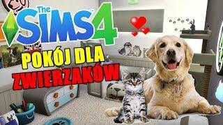 Budujemy pokój dla ZWIERZAKÓW w SIEROCIŃCU!  The Sims 4