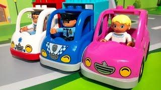 Мультики Про машинки все серии подряд. Полиция Пожарная машина Скорая помощь. Видео для детей