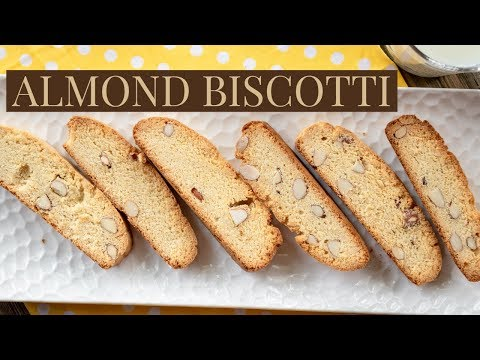 How To Make Almond Biscotti | Homemade Cookies | Christmas Special | Easy & Delicious