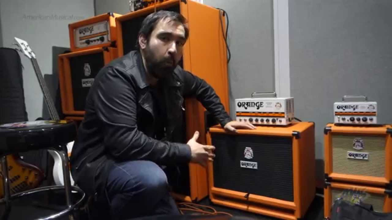 Ams At Namm 2015 Orange Obc212 Bass Cabinet Youtube