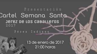 Presentación del cartel oficial de Semana Santa 2017