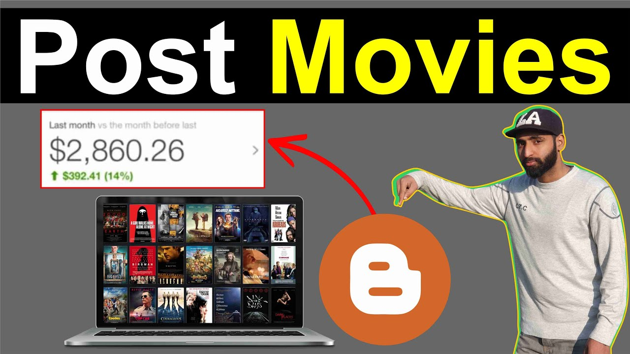 How to Post Movies on Blogger in Hindi
