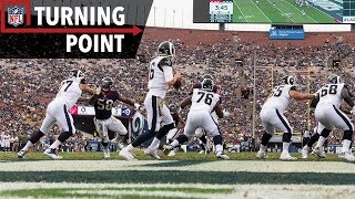 Jared Goff to Robert Woods Begins an Avalanche of Points (Week 10) | NFL Turning Point