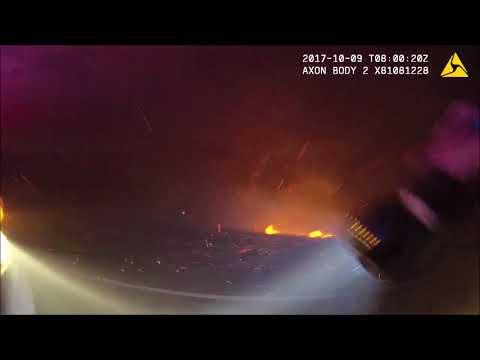 Sonoma County Sheriff deputy's Fire Response 10/8/17