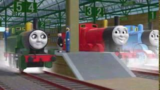 Mary The Smelting Tank Engine
