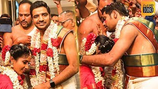 LATEST: Actor Sathish - Sindhu's Wedding Scenes! Emotional Moments of Marriage!