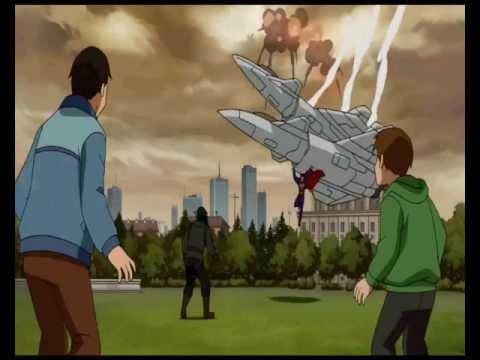 Superman vs fighter jets