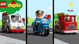 Hometown Heroes LEGO | NEW! | LEGO DUPLO | Kids Learning Videos | Nursery Rhymes