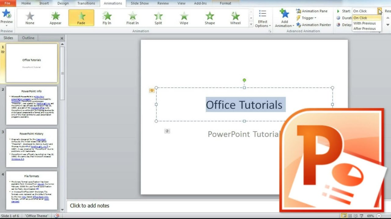 Animate Text In Powerpoint, How To Make A Word Move In A Powerpoint  Presentation