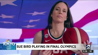 Sue Bird Playing In Her Final Olympics