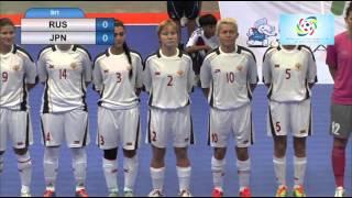 2016 Deaf Futsal 20 Nov 2015 Woman Russia VS Japan Bangkok Youth Center 1