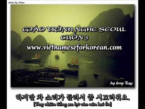 Giáo trình nghe Seoul cuốn 3 - Bài 7 đến bài 9 - www.vietnameseforkorean.com