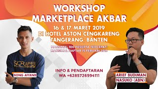 WS akbar Marketplace Jakarta, Maret