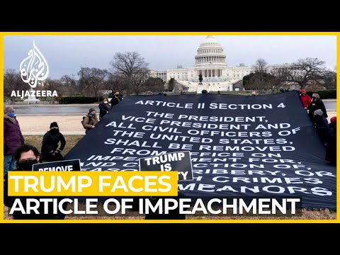 House Dems introduce article of impeachment against Trump