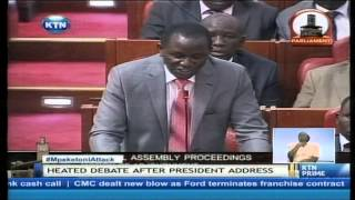 Emotions run high in parliament as MPs trivialize the Mpeketoni Attack