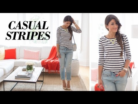 Casual Stripes OOTD
