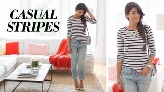 Casual Stripes OOTD Thumbnail