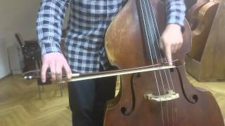 Видео уроки по контрабасу 1