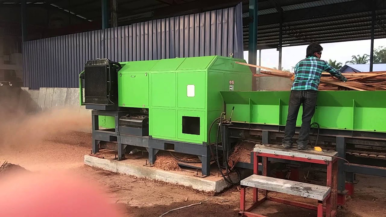 Sawdust machine youtube