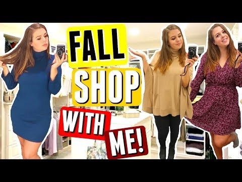 Inside the Dressing Room: Fall Fashion for CURVY GIRLS! Shop With Me FALL 2017!