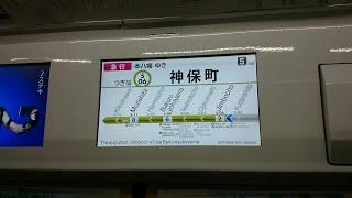 【英語放送東武の新声優に似てる?】都営新宿線の英語放送の声優が変更になりました