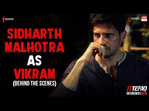 Sidharth Malhotra as Vikram | Behind The...