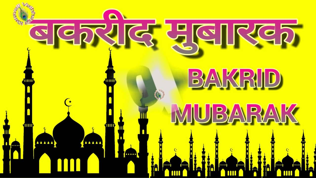 Eid ul adha mubarakin hindihappy bakrid 2017wishesgreetings eid ul adha mubarakin hindihappy bakrid 2017wishesgreetingsimageswhatsapp video m4hsunfo