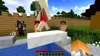 Minecraft: Namorada Perfeita #10 -  PISCINA COM AMIGOS  !!