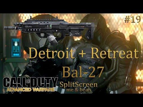 Advanced Warfare | Multiplayer PS4 | Splitscreen | Detroit + Retreat and BAL-27 [#19]