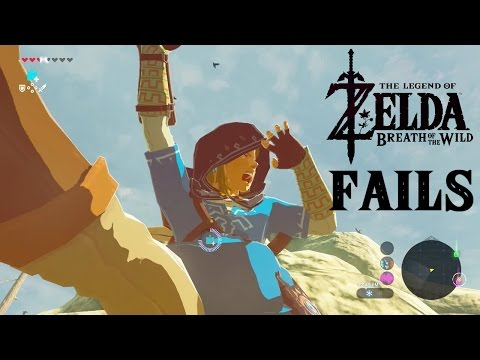 Legend of Zelda: Breath of the Wild FAILS